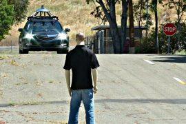 Honda Civic с автопилотом проходит тестирование