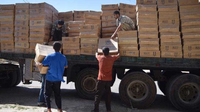 ООН: доставка помощи в Сирию по воздуху рискованна