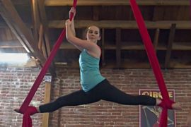 В США предлагают фитнес «под куполом цирка»