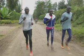 Беженцы-олимпийцы готовятся к Играм-2016