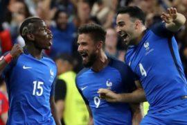 Евро-2016: первая победа Франции