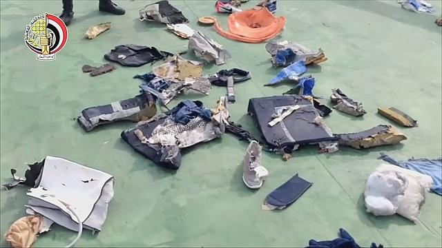 Обломки EgyptAir найдены в Средиземном море