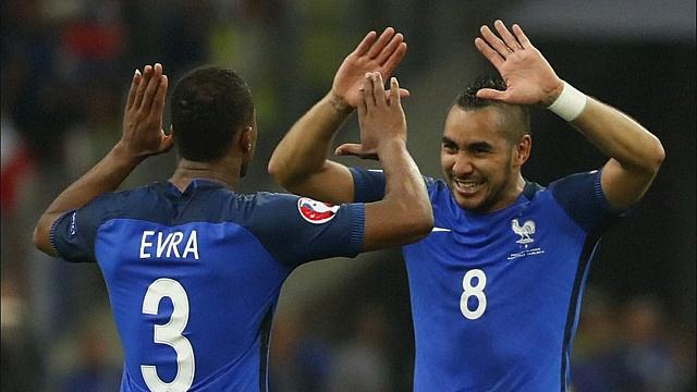 Евро-2016: Франция и Словакия — победители 15 июня