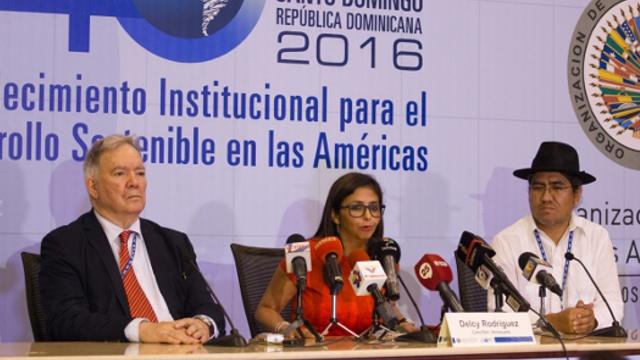 Лидеры стран Америки обсудили кризис в Венесуэле