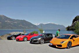 В Канаде туристы побывают в роли гонщиков
