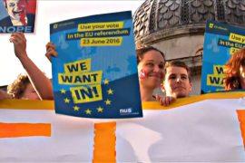 Молодёжь Великобритании призвала остаться в ЕС