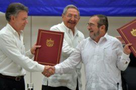Колумбийцы радуются историческому перемирию с ФАРК
