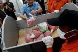 5 тонн наркотиков сожгли в Таиланде