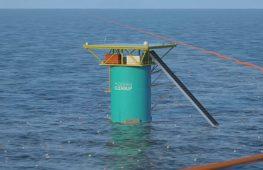 Плавучий барьер поможет в сборе мусора