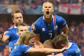 Исландия одержала историческую победу над Англией