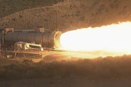 NASA испытало двигатель ракеты для дальних полётов