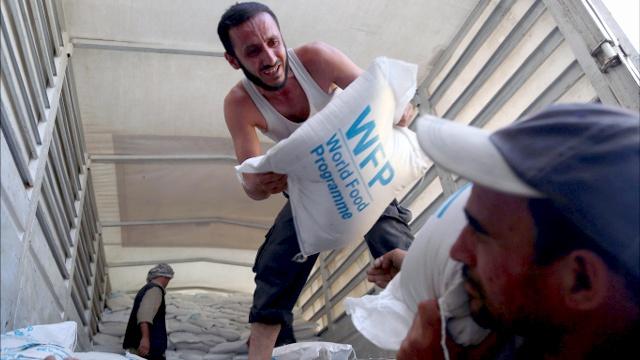 ООН доставила гумпомощь в осаждённые города