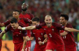 Португалия выходит в полуфинал