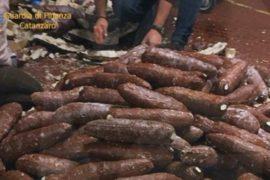 В Италии и Колумбии изъяли 11 тонн кокаина у мафии