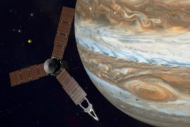 Зонд «Юнона» попытается выйти на орбиту Юпитера