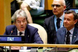 Италию выбрали непостоянным членом Совбеза ООН