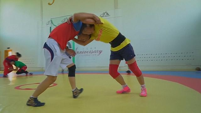 Монголка-борец рассчитывает на олимпийское золото