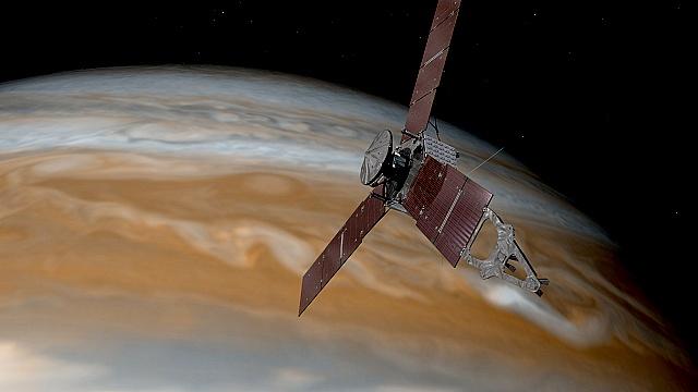 Станция «Юнона» вышла на орбиту Юпитера