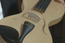 Как звучит скрипка из полимера с паутиной?
