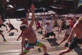 Фитнес в исторических местах – новый тренд в США