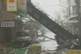 На Тайвань обрушился супер-тайфун «Непартак»
