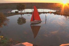Австралия: яхт-клуб посреди буша