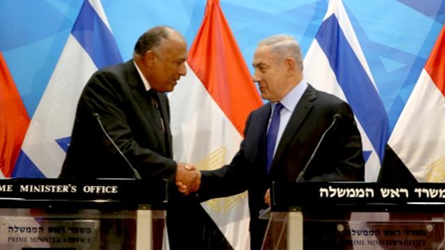Исторический визит: глава МИД Египта посетил Израиль