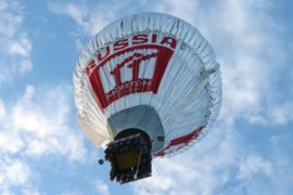 Федор Конюхов обогнёт землю на воздушном шаре