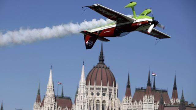 Лучшие пилоты состязались над Будапештом