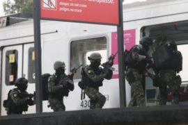 Силы безопасности в Рио готовятся к Олимпиаде