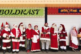Санта-Клаусы собрались на ежегодный конгресс