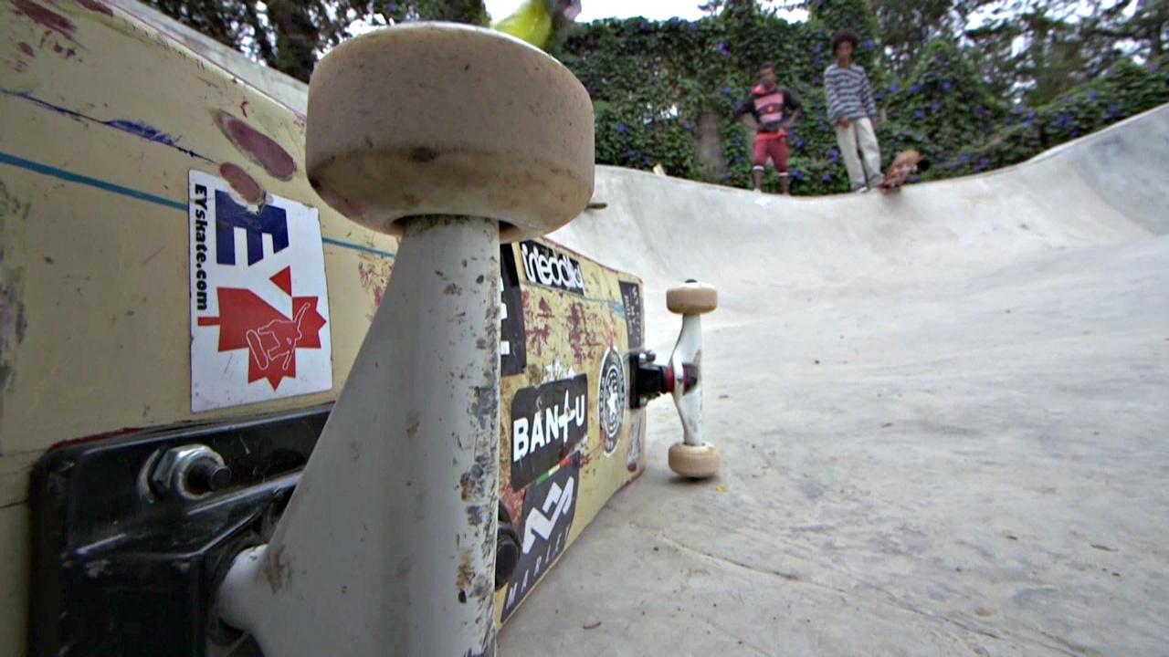 В Эфиопии мечтают об олимпийском скейтбординге