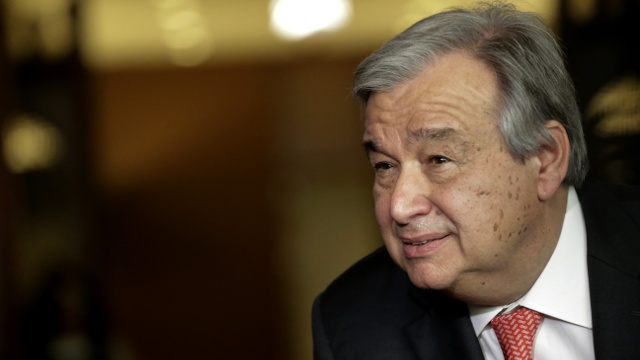 Гутерриш лидирует в выборах на пост генсека ООН