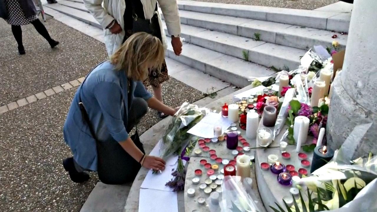 Французский городок оплакивает убитого священника