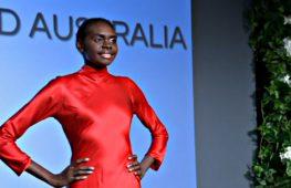 Девушка-абориген покоряет подиум в Австралии