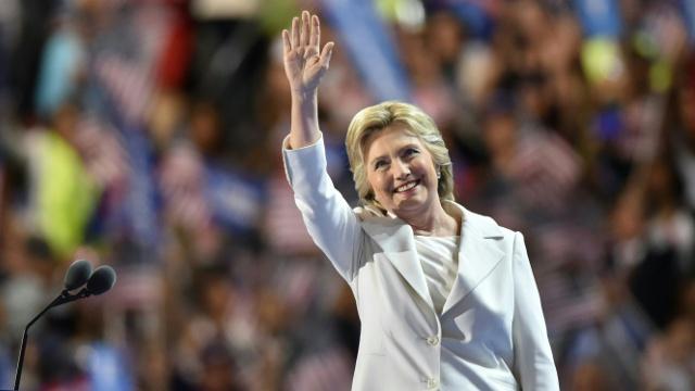 Клинтон согласилась баллотироваться в президенты