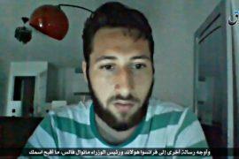 ИГИЛ показало видео с одним из напавших на церковь