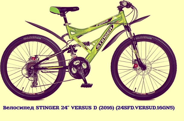 "Велосипед STINGER 24"" VERSUS D"