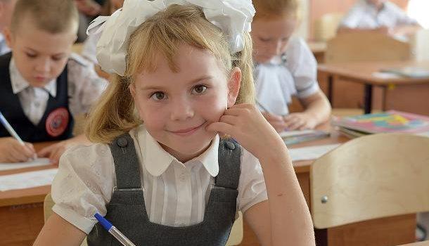 В московские школы уже зачислено около 100 тысяч первоклассников