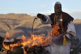 Боливийцы отпраздновали в Андах день Матери Земли