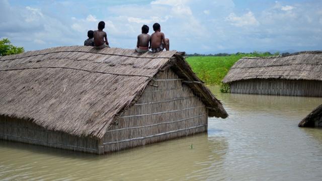Наводнения в Индии в этом году – сильнее, чем обычно