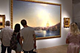 Выставка Айвазовского открылась в Третьяковской галерее