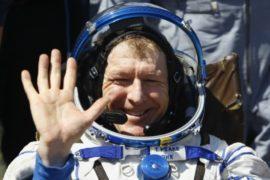 Астронавт Пик волновался перед вылетом с МКС на Землю
