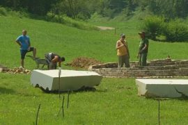 Волонтёры создают парк в районе Боснийских пирамид