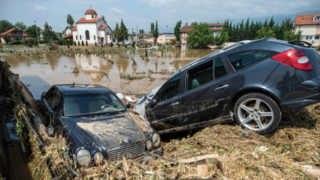 Наводнение в столице Македонии: более 20 погибших