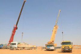 Гумпомощь сирийским беженцам переправили краны