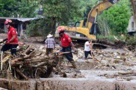 Мексика восстанавливается после оползней