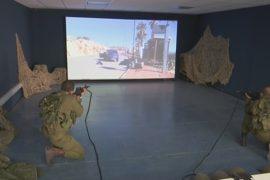 Израильских солдат готовят к угрозам на симуляторе