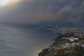 Лесной пожар добрался до столицы острова Мадейра