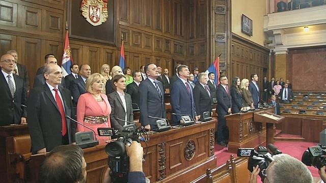 Новый сербский Кабинет министров одобрен парламентом